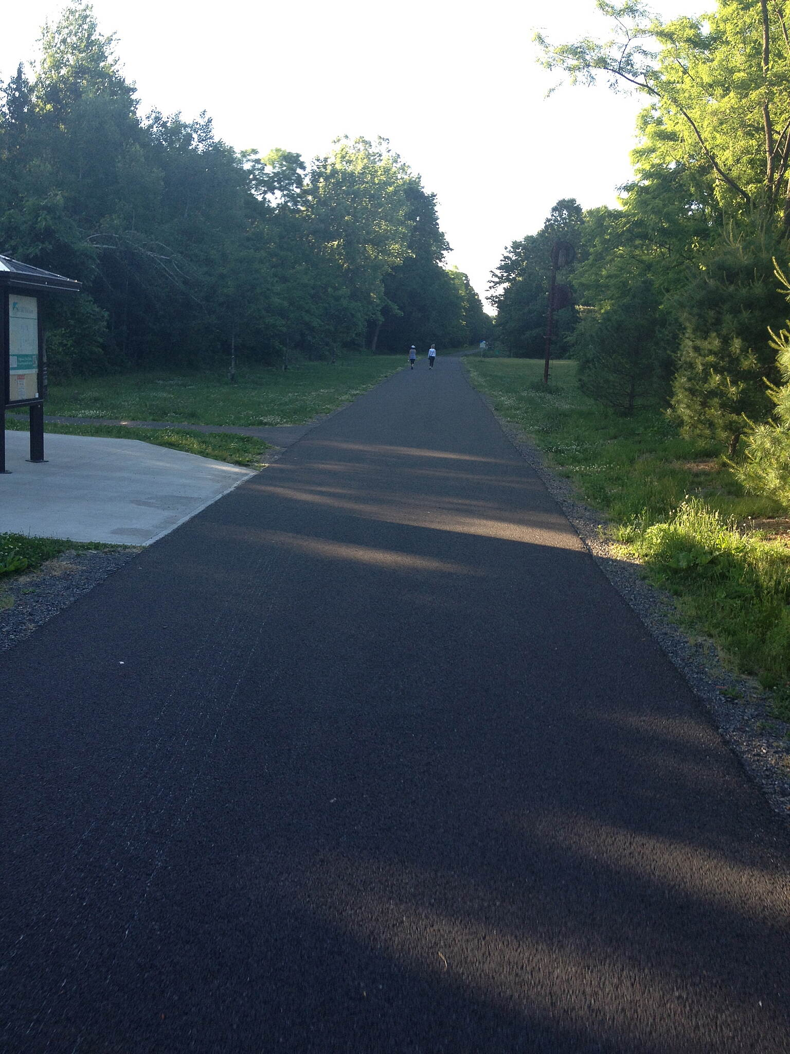 Hudson Valley Rail Trail Shaded Areas