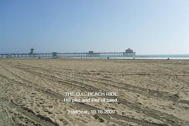 Huntington Beach Bicycle Trail THE O.C. BEACH RIDE The HB pier