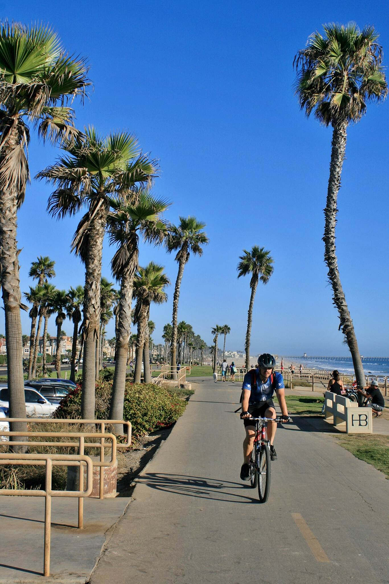 Huntington Beach Bicycle Trail San Gabriel-Santa Ana River CT Huntington Beach Bike Trail