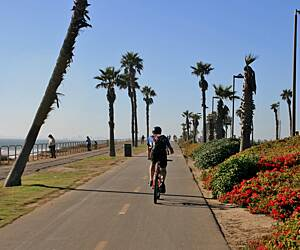 Huntington Beach Bicycle Trail