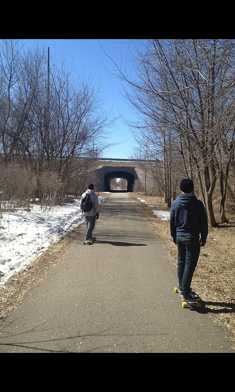 Huron Valley Trail Huron Valley Longboarding