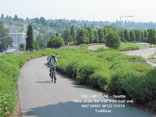 I-90 Trail THE I-90 TRAIL - Seattle Downhill to the Sam Smith Park