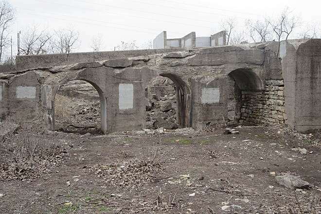 Illinois & Michigan Canal State Trail Iron Works Ruins This site is very extensive.