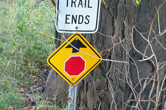 Illinois & Michigan Canal State Trail The end of the I&M Canal Trail