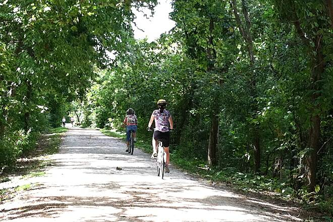 Illinois Prairie Path Trail Users