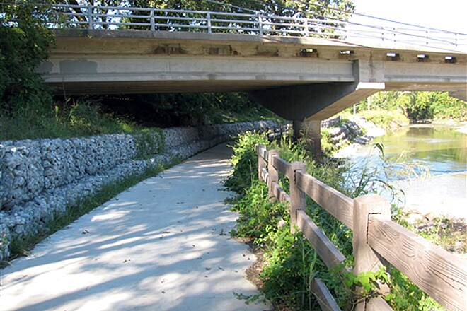 Indian Creek Bike/Hike Trail E99th Street Bridge Trail Extension Eastward