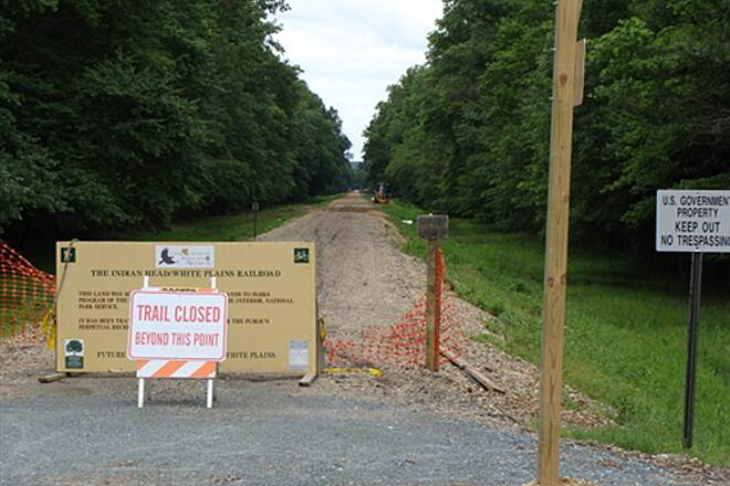 Indian Head Rail Trail Indian Head Rail Trail End of the first section at Rte. 227 (Phase 1)