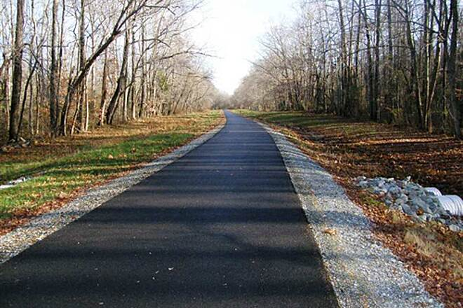 Indian Head Rail Trail Indian Head Rail Trail, MD Typical trail view