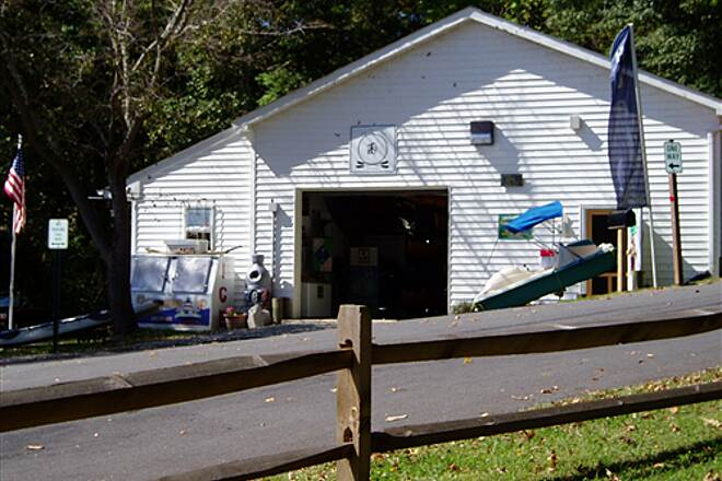 Indian Head Rail Trail Mattingly Park, Indian Head MD Bike and Kayak rental shop at Mattingly Park quarter of aa mile from the Indian Head Rail Trail