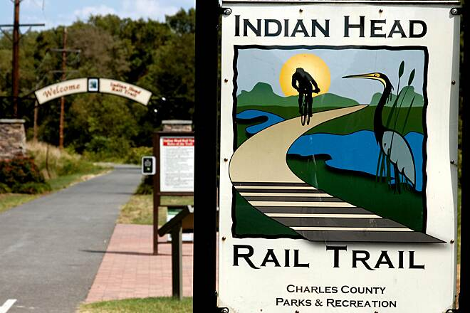 Indian Head Rail Trail The Indian Head Western Trail Gateway Time for a Great Ride!