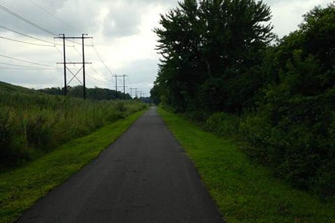 Industrial Track Greenway Trail New Castle Industrial Track