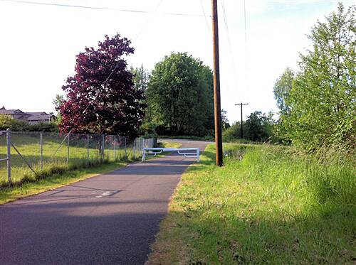 Interurban Trail (North) Everett Tailhead  Colby Ave at 44th