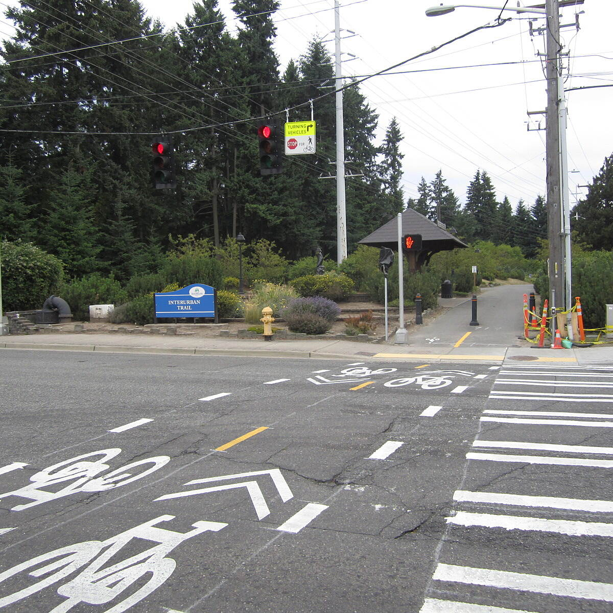 Interurban Trail (North) Interurban Trail North Trail at N. Linden Ave. and N. 145th