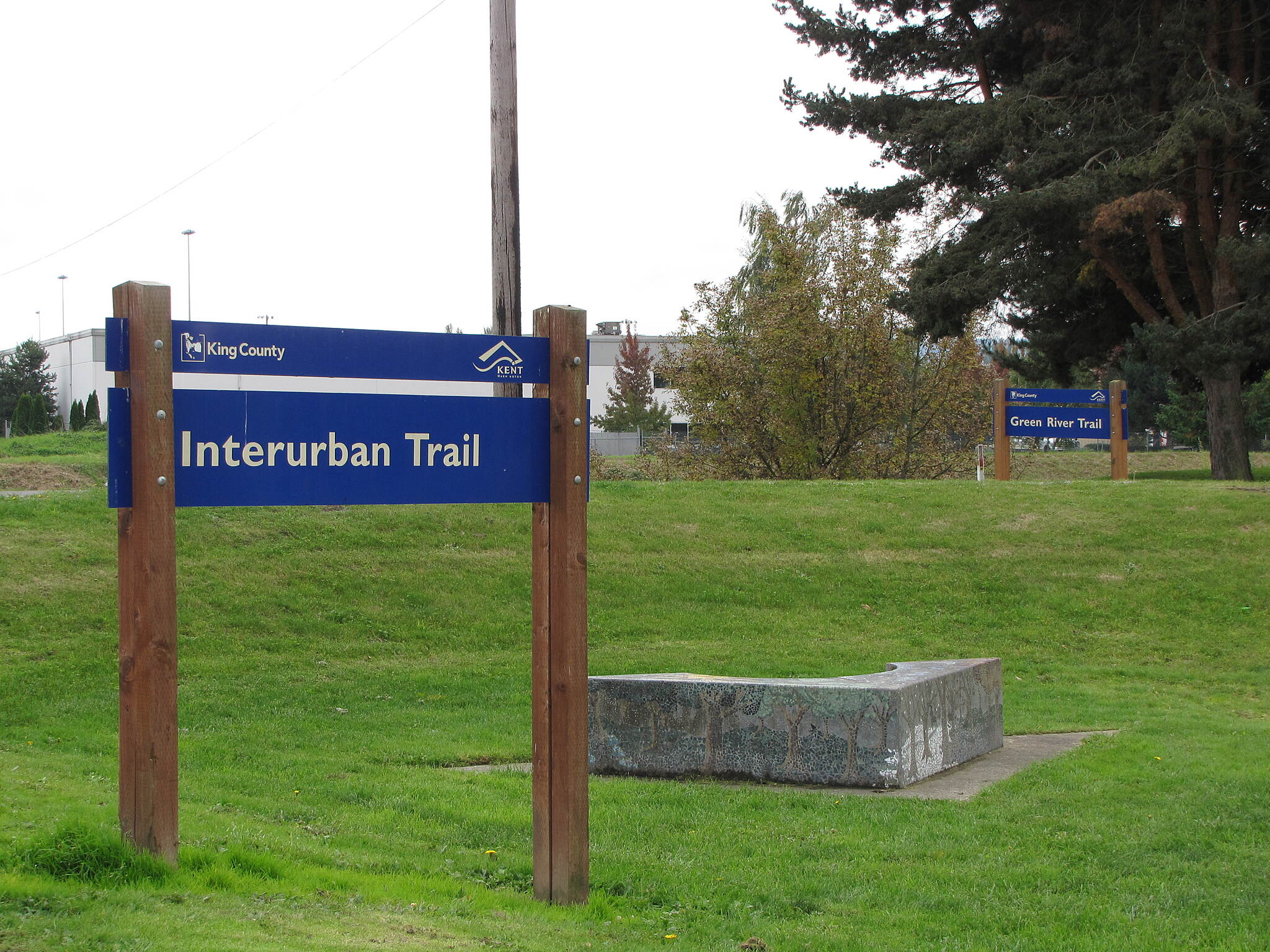 Interurban Trail (South) Interurban Trail (South) Here the Interurban connects with the Green River Trail in Kent.