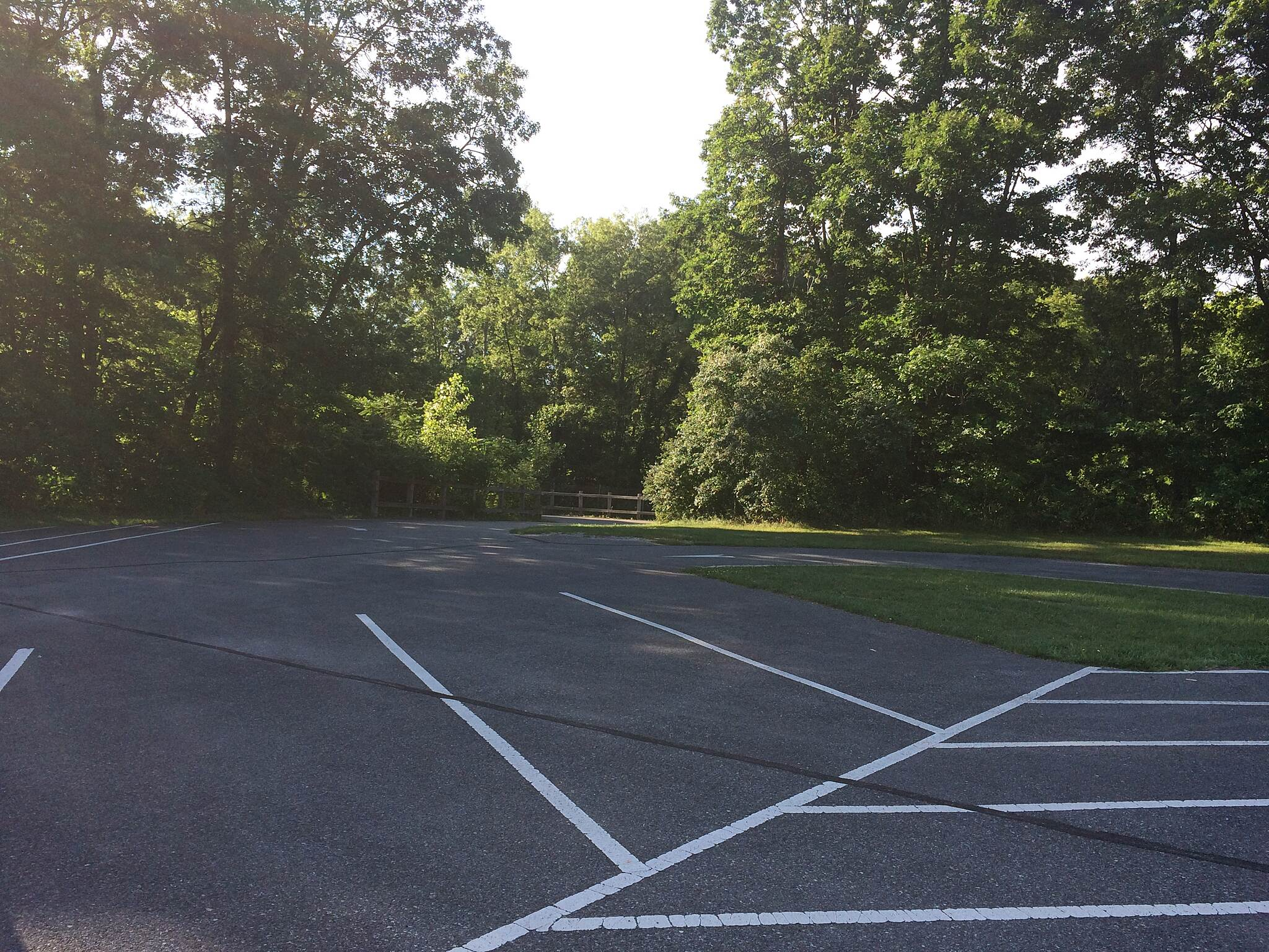 Iron Horse Heritage Trail Parking Parking also is for a park, soccer fields and restrooms