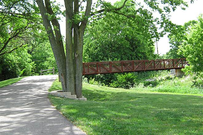 Iron Horse Trail (OH) Iron Horse Trail State Farm Park Bridge