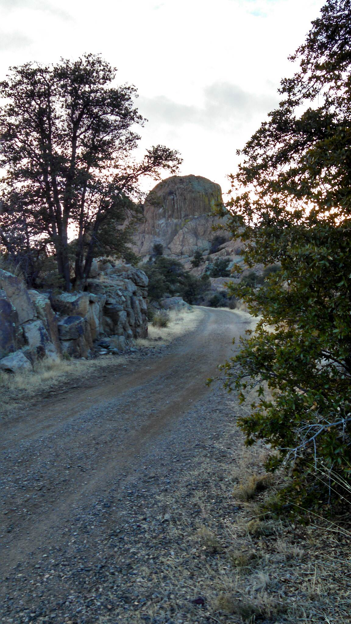 Iron King Trail Iron King trail. Sunset