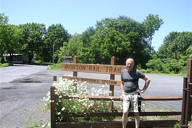 Ironton Rail-Trail May 2010 End of the 'tail'