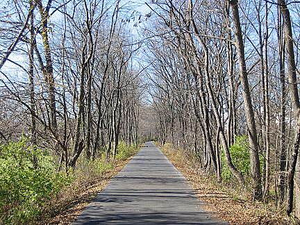 Ironton Rail-Trail Ironton Rail-Trail, PA A paved trail segment northwest of Hokendauqua Park in Whitehall Township.