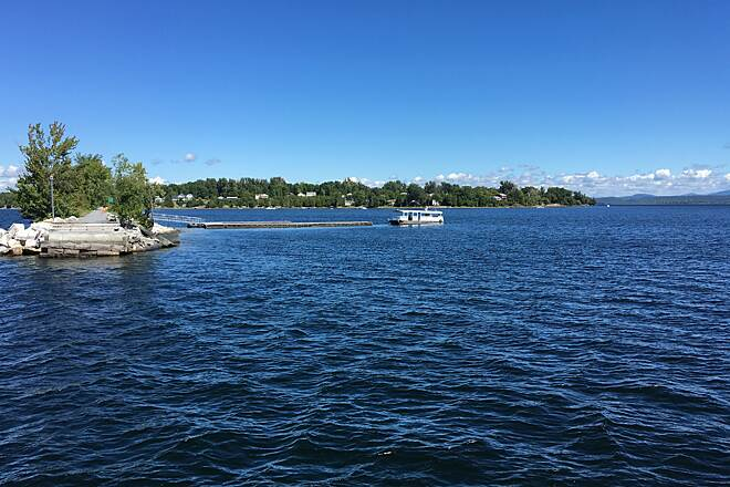 Island Line Trail Bike Ferry