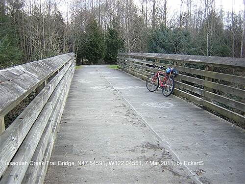 Issaquah-Preston Trail Issaquah-Preston Trail Issaquah Creek Bridge