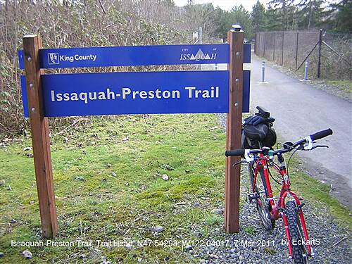 Issaquah-Preston Trail Issaquah-Preston Trail Issaquah-Preston Trail Trail Head