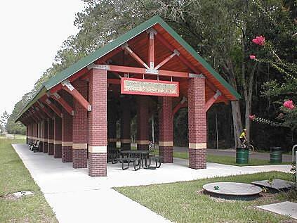 Jacksonville-Baldwin Rail-Trail Jacksonville-Baldwin Trail Baldwin Station (public restroom facility and covered picnic area).