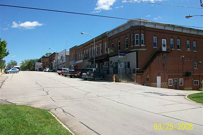 Jane Addams Trail Downtown Orangeville Historic downtown Orangeville