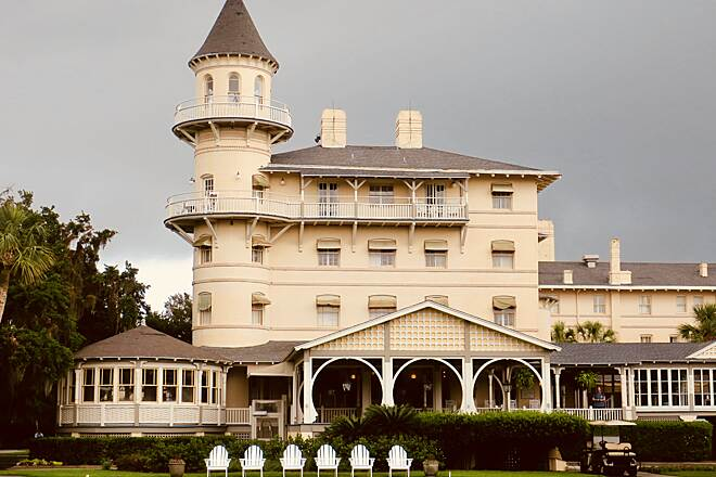 Jekyll Island Trail Jekyll Island Club This historic hotel is one of the sights you'll see biking on this relaxed island.