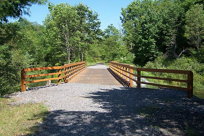 Jim Schug Trail Bridge