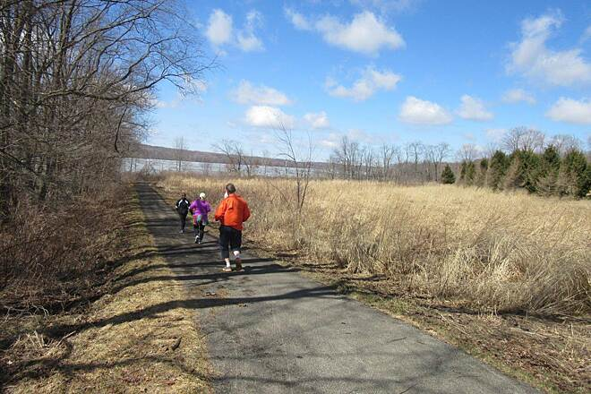 John C. Oliver Multi-Purpose Loop Trail Half Marathon - April, 2015 Annual Half Marathon along the trail, April 2015