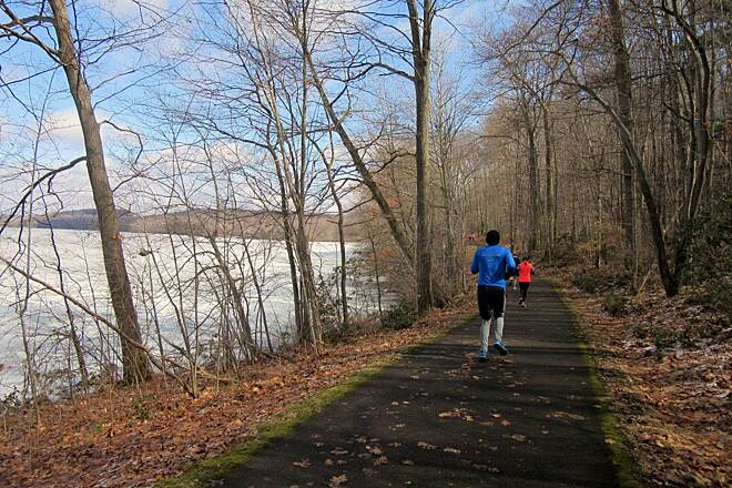 John C. Oliver Multi-Purpose Loop Trail Trail - April 2015 Mercer County Trails Association annual Half-Marathon, April 2015