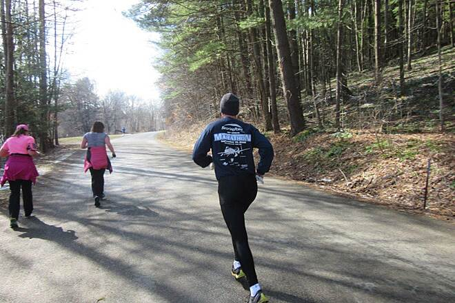 John C. Oliver Multi-Purpose Loop Trail Half Marathon Annual Half Marathon - April 2015