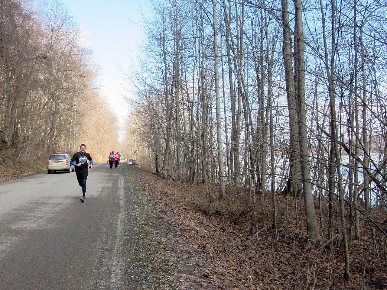 John C. Oliver Multi-Purpose Loop Trail Trail half marathon Trail half marathon - April 2015