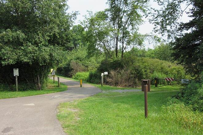 John C. Oliver Multi-Purpose Loop Trail Trail Trail, Goddard State Park-July 2015