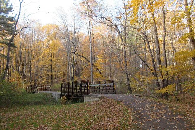John C. Oliver Multi-Purpose Loop Trail Trail Along the trail on the Northern end.