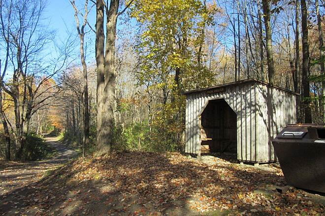 John C. Oliver Multi-Purpose Loop Trail Shelter Rain shelter, rest stop shelter along the trail