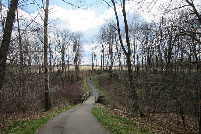 John C. Oliver Multi-Purpose Loop Trail Hilly Trail Though hilly, this trail is great!