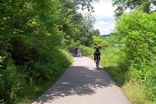 John C. Oliver Multi-Purpose Loop Trail All Ages Love Riding This Trail