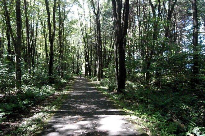 John C. Oliver Multi-Purpose Loop Trail Trail The Trail which goes all the way around the lake