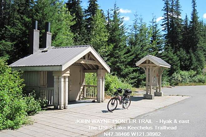 John Wayne Pioneer Trail JOHN WAYNE PIONEER TRAIL There is a day fee at this trailhead