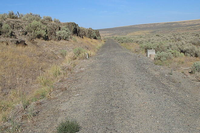 John Wayne Pioneer Trail On the trail between Warden and Lind. Photo courtesy of the DNR's Southeast Region.