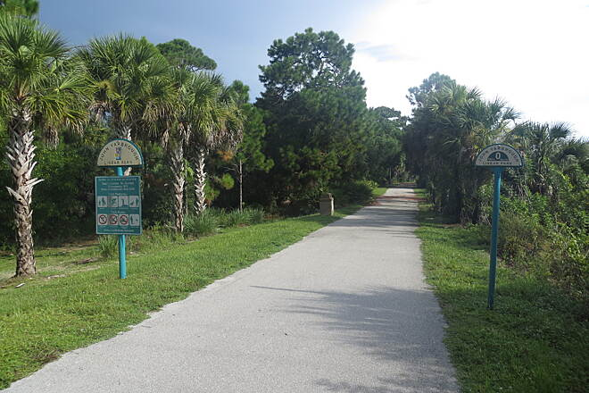 John Yarbrough Linear Park Trail Natural oasis in Fort Myers