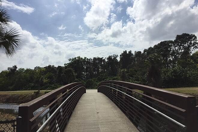 John Yarbrough Linear Park Trail Skating Linear Trail - Fort Myers