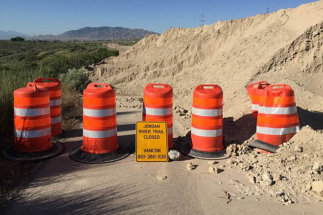 Jordan River Parkway Trail temporarily closed