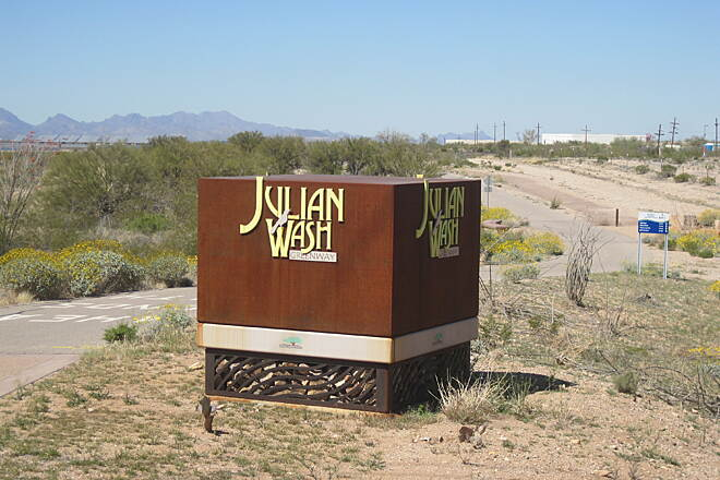 Julian Wash Greenway Trailhead