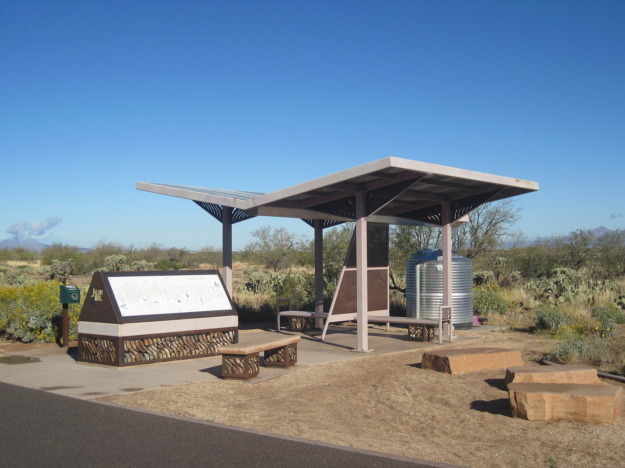 Julian Wash Greenway Rest Area