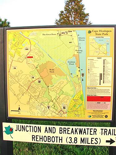 Junction & Breakwater Trail Junction and Breakwater Rail Trail Add a 2 miles if riding from Cape Henlopen St. Park, Lewes