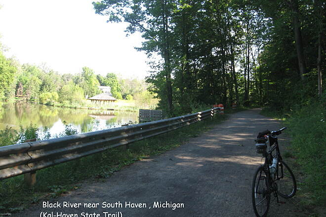 Kal-Haven Trail Sesquicentennial State Park Black River