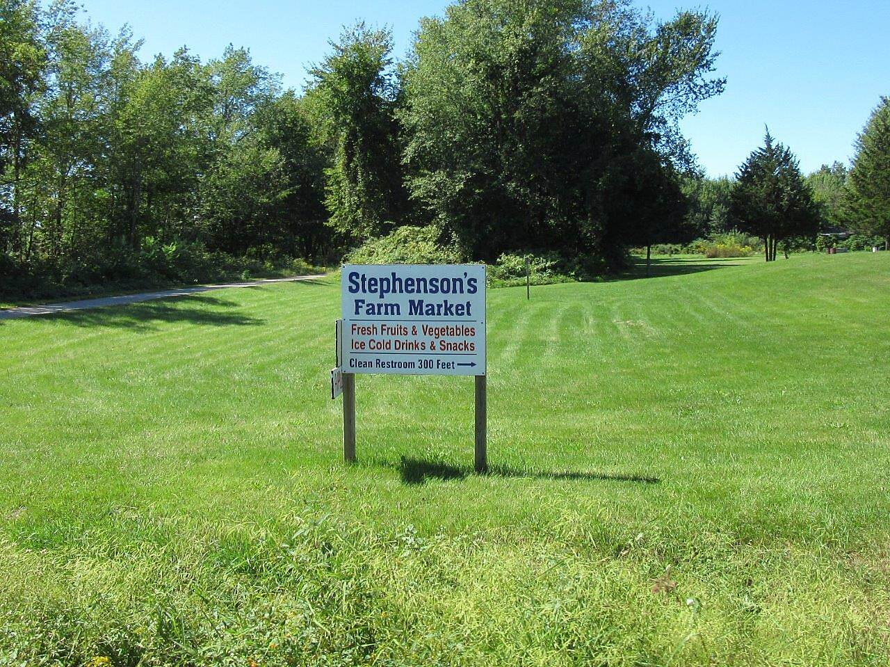 Kal-Haven Trail Sesquicentennial State Park Farm Market Near the trail.  Worth the ride to it!